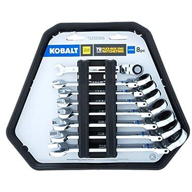 Kobalt 8-Piece Metric Ratcheting Wrench Set 85561