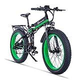 XXCY 1000W Mountain Ebike des elektrischen Fahrrad fährt 26 Zoll fetten Reifen-Straßen-Fahrrad-Strand/Sch