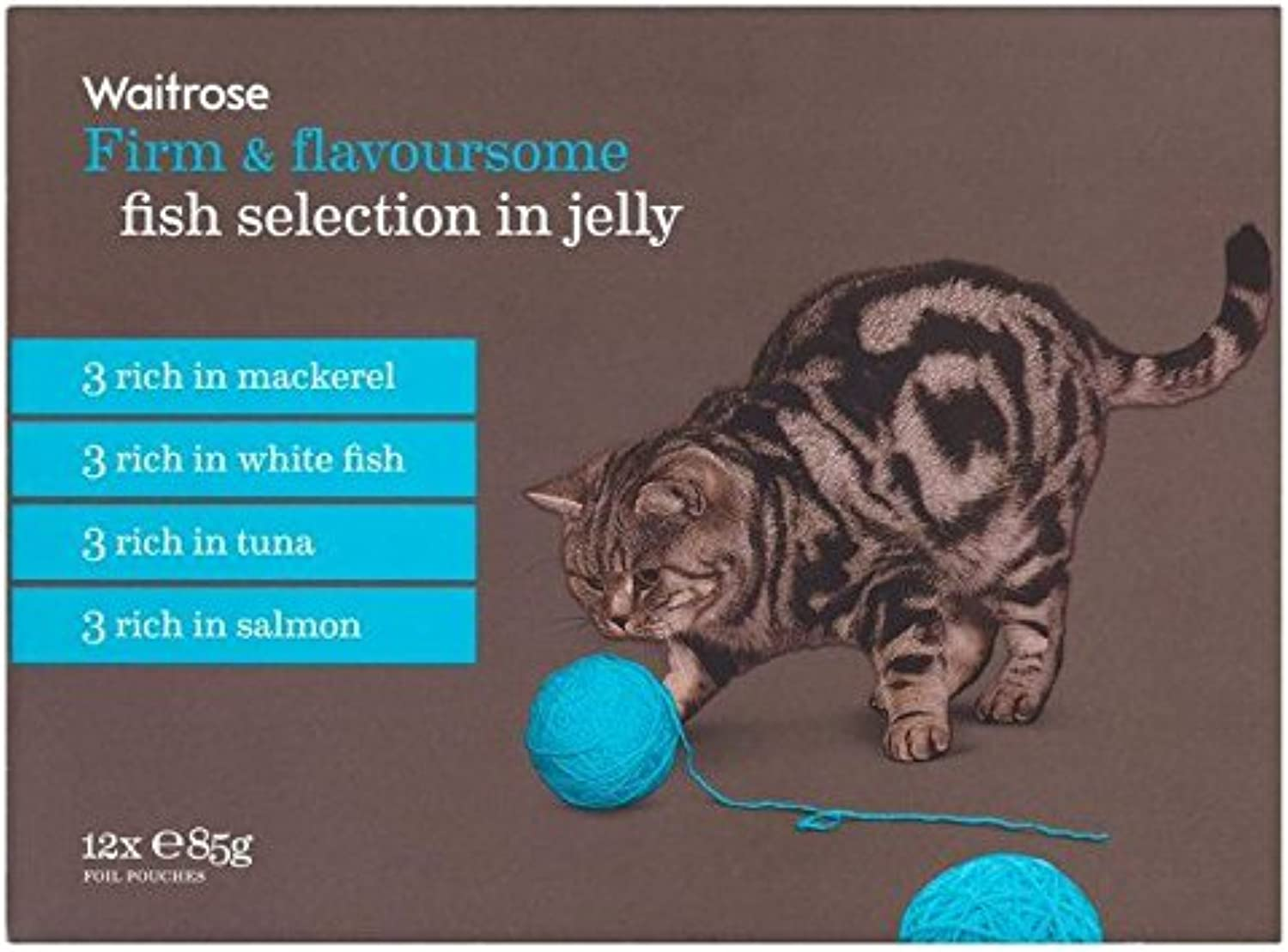 Cat Adult Pouch Fish Selection Waitpink 12 x 85g (PACK OF 2)