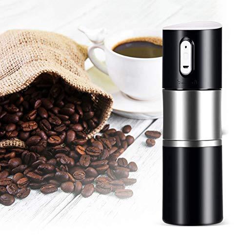 GLEI-TK Le Moulin à café Portable Semi-Automatique Peut être chargé -100HZ / 200W / 20A (Noir Blanc Rouge),Black