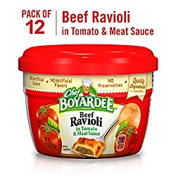 Chef Boyardee Overstuffed Beef Ravioli, 15 oz, 12 Pack
