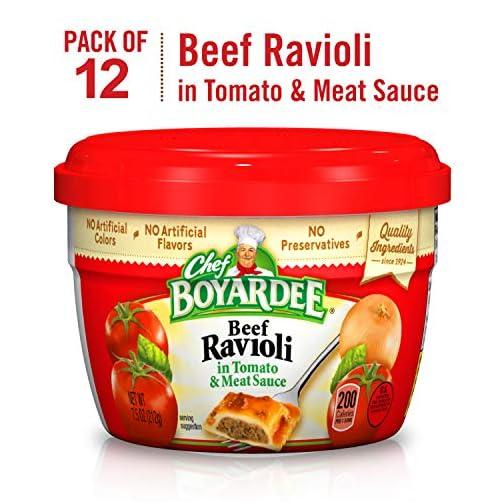 Chef Boyardee Overstuffed Beef Ravioli, 15 oz, 12 Pack 3