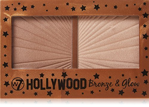 W7 Hollywood Bronze & Glow Duo Bronzer & Highlighter by W7