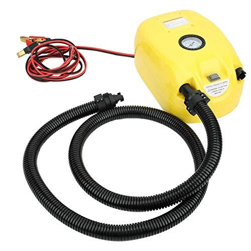 Bomba de aire eléctrica de alta presión GP80 Bomba de aire automática de PVC DC12V Bomba de aire para canoa para barco, kayak, coche, canoa, barco