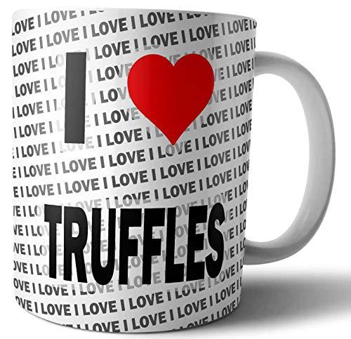 Ik hou van truffels - thee - koffie - mok - beker - verjaardag - kerst - cadeau