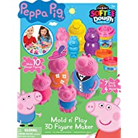 Cra-Z-Art Peppa Pig Softee Dough Mold N Play 3D Figure Maker