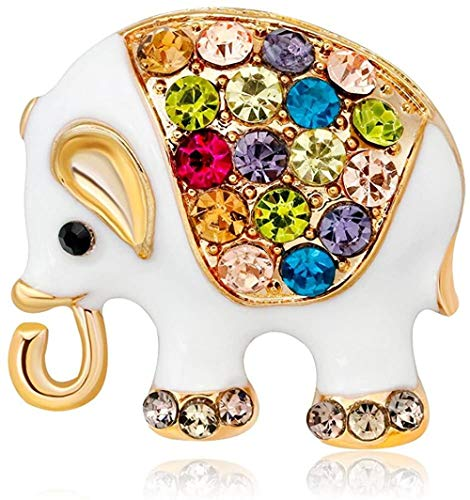 FOPUYTQABG Brosche Ältere Elefantenbrosche der Modelegierung ältere Brosche