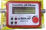 Solid SF-45 Satellite Signal Finder Db Meter for Full Hd Dish T.V Network