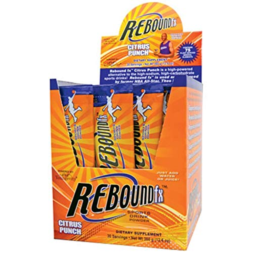 REBOUND FX ON-THE-GO POUCHES CITRUS PUNCH - 30 CT BOX by Youngevity