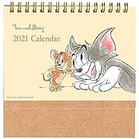 学研ステイフル 2021年 トムとジェリー カレンダー 卓上 DM10088