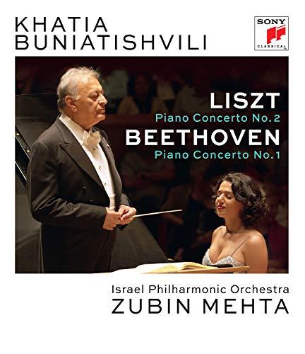 Liszt: Piano Concerto No. 2 In A Maj Or, S 125 & Beethoven: Piano Concert O No. 1 In C Major, Op. 15 [Blu-ray]