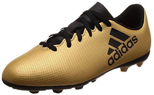 adidas X 17.4 FxG, Scarpe da Calcio Unisex-Adulto, Oro (Tagome/Cblack/Solred Tagome/Cblack/Solred), 38 EU