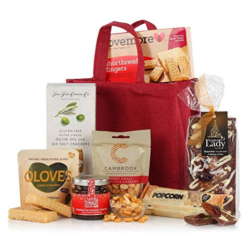 Gluten & Wheat Free Jute Bag - Gift for Coeliacs - Gluten Free Hamper Gift