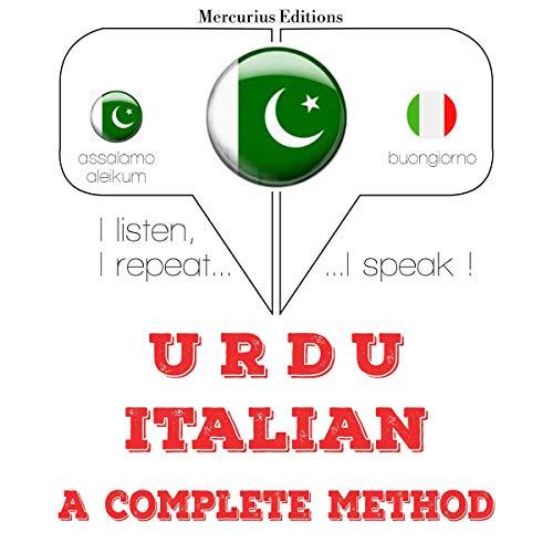 Urdu - Italian. A complete method cover art