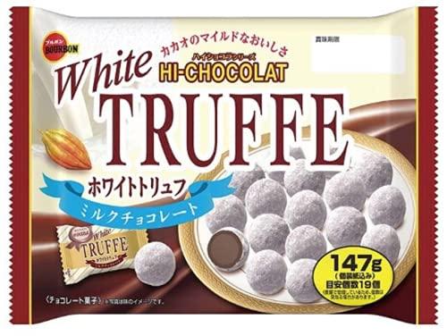 ブルボン ホワイトトリュフ ミルクチョコレート 147g ×1袋