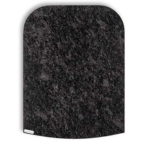 Stone4Slide coolina® Gleitbrett Gleiter aus Granit Steel Grey passend für Thermomix TM6 TM5 TM31