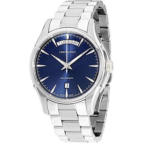 Hamilton Jazzmaster Day Date / orologio uomo / quadrante blu / cassa e...
