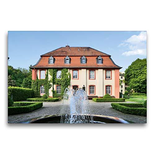 Premium Textil-Leinwand 75 x 50 cm Quer-Format Standesamt | Wandbild, HD-Bild auf Keilrahmen, Fertigbild auf hochwertigem Vlies, Leinwanddruck von Petrus Bodenstaff