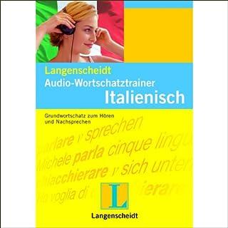 Langenscheidt Audio-Wortschatztrainer Italienisch Titelbild