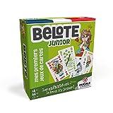 Ducale, le jeu français Belote Junior-Jeu de cartes Enfant, 410710