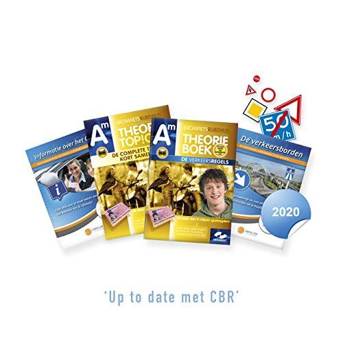 Bromfiets Theorieboek Nederland 2020 - Scooter Theorie Leren - Rijbewijs AM met Samenvatting + CBR Informatie- en Verkeersborden