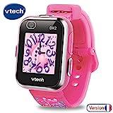 VTech Kidizoom Smartwatch Connect DX2 – Rose – Montre Connectée Pour Enfants