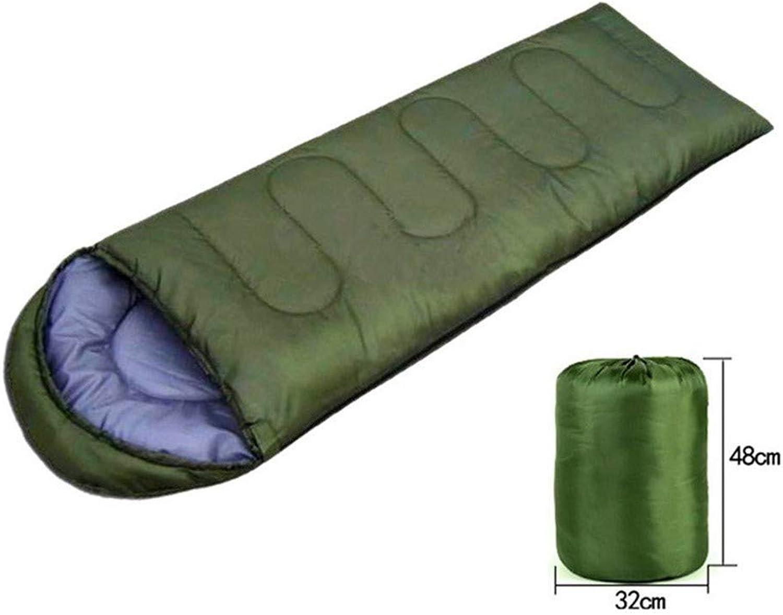 Schlafsack Wasserdichte Freizeit Camping Outdoor Outdoor Outdoor warme Baumwolle 0.7KG Anti-Kick ist 210  75cm B07JB98LRS  Schnäppchen a1500a