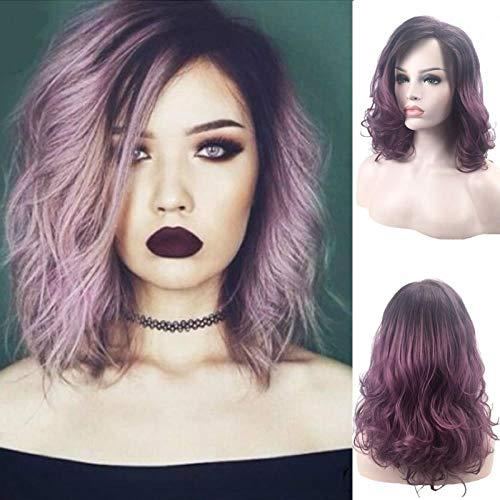 Madame, les cheveux courts, les cheveux courts, les roses, Coloration progressive