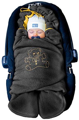 ByBoom - Manta arrullo de invierno para bebé, es ideal para sillas de coche...