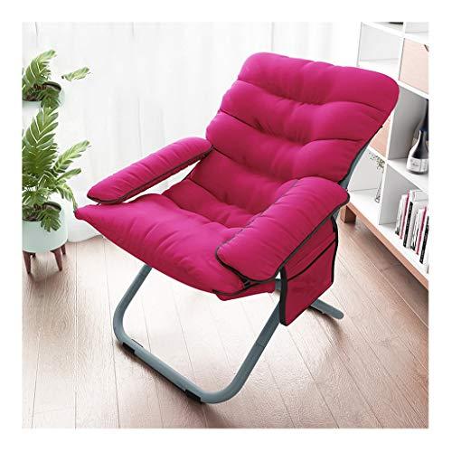 Chaise Pliante Canapé Paresseux Ordinateur Canapé Tabouret Salon Chambre Salon Fauteuil Inclinable Lavable Chaise Coussin