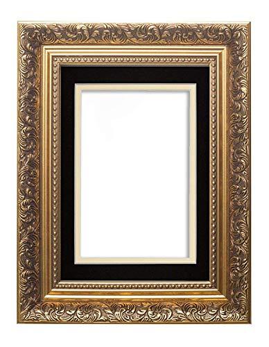 Memory Box Cadre Photo Double Style Baroque français Antique 29,7 x 42 cm pour Photos A4