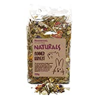 The taste and aroma of English summers in a bag Made with only 100% natural ingredients A blend of 11 different herbs, flowers, fruit leaves and vegetables Supports tooth abrasion and healthy digestion Great for all small animals including chinchilla...