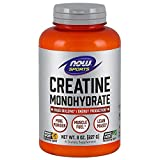 NOW Sports Nutrition, Creatine Monohydrate Powder, Mass Building*/Energy Production*, 8-Ounce