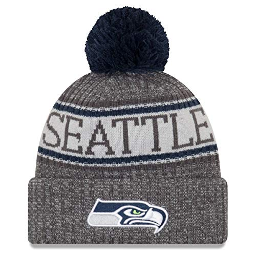 New Era NFL Sideline Graphite Mütze - Seattle Seahawks