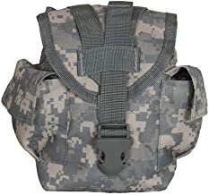 New in Bag Made in USA Army Military Tactical Molle ll ACU Digital Camo Camouflage General Purpose 1 QT Utility Pouch Canteen Cover by US Goverment GI USGI