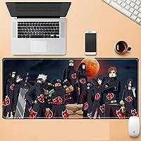 ゲーミングマウスパッド 大型マウスパッド アニメマウスパッド デスクトップマウスパッド 滑り止め&防水 1000×500×3mm アニメ ナルト-A_900X400mm