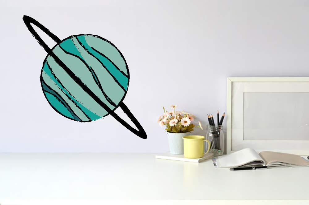Uranus Planet Space Wall Vinyl Sticker Mural free Car Art Inexpensive Decal Decor
