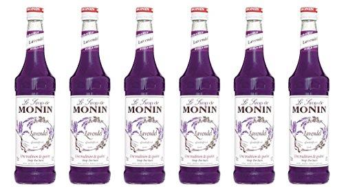 Monin Sirup Lavendel, 0,7L 6er Pack