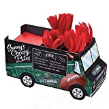 amscan Sunny Anderson's Football Truck Utensil Caddy, Football Party Supplies and Decorations