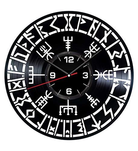 Vegvisir Vikings Wall Clock