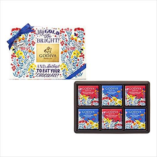 【公式】 ゴディバ (GODIVA) コレクションソレイユ カレ アソートメント 6枚入
