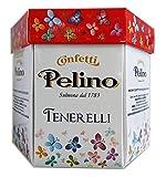 Confetti Pelino Monoporzionati In Bustine Singole, Ciocomandorla Rosso - 300 Gr