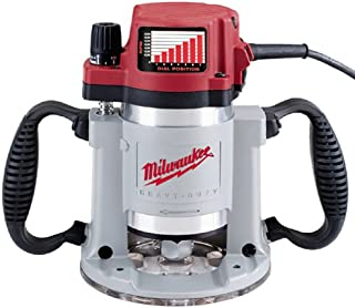 Factory-Reconditioned Milwaukee 5625-20 3-1/2 Max Horsepower Fixed-Base Production Router with Electronic Variable Speed, Feedback Circuitry, and Soft-Start