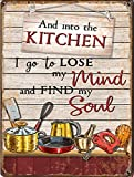 Graman Kitchen Decor – And Into The Kitchen I Go To Lose