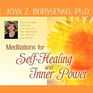 Meditations for Self Healing and Inner Power audiobook cover art