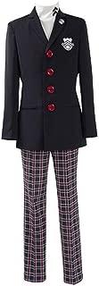 Men's P5 Protagonist School Uniform Cosplay Costume Jacket Coat Top Attire Outfit Suit