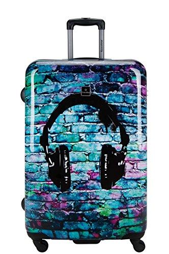 Saxoline Koffer Trolley Hartschalenkoffer Headphone Kopfhörer Gr.L 77 cm
