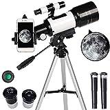 N//A Télescope Astronomique pour Enfants Et débutants, Adulte, Portable Télescope avec Trépied...
