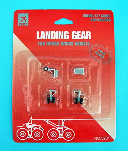Daron Worldwide Trading HG5231 Hogan B737-600/700/800 Gear with Imprints 1/200