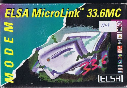 Elsa Microlink 33.6 MC, Modemkarte PCMCIA